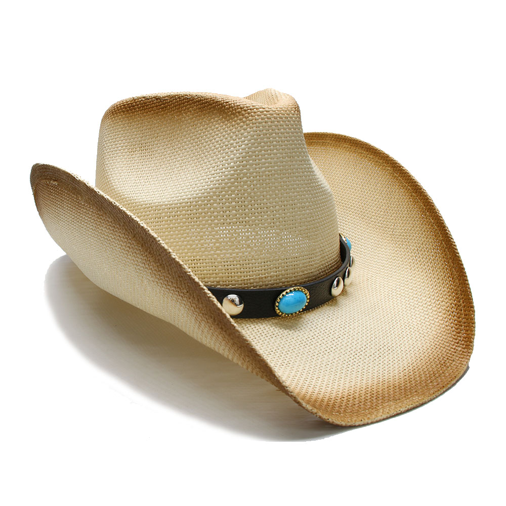 85cddfe58bf24e ... Cowboy Hats; Material: Straw; Gender: Unisex; Pattern Type: Solid;  Style: Novelty; Department Name: Adult