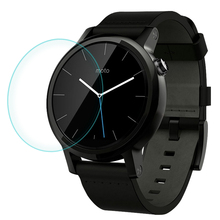 CR Top Quality 0.2mm 9H Tempered Glass Screen Protector for Motorola Moto 360 Smart Watch Sport 42mm 46mm 1 & 2 Generation