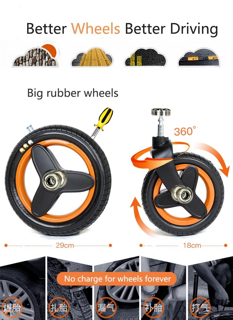 luxury baby stroller 3 in 1 (16)