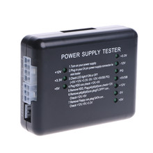 20 24 Pin PSU ATX SATA HD Power Supply Tester 10379-A(China)