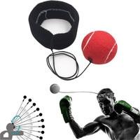 Бой мяч с руководитель группы для Reflex Скорость боксерские удар Упражнение борьба спортивные аксессуары мячей #5O08