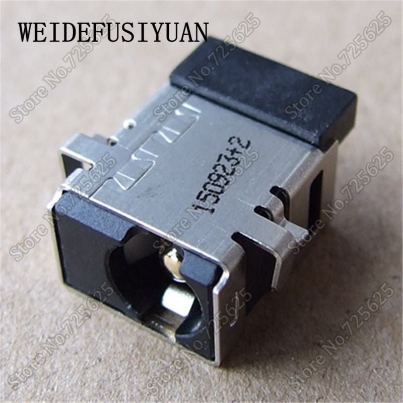 5pcs/lot AC DC Power Jack Connector for ASUS FL5600L FL5800L X454L X555L VM501L VM590L VM510L DC Power Charge Port Socket 10x for asus x52e x53j x53s x54 x54h laptop ac dc power jack port socket connector plug