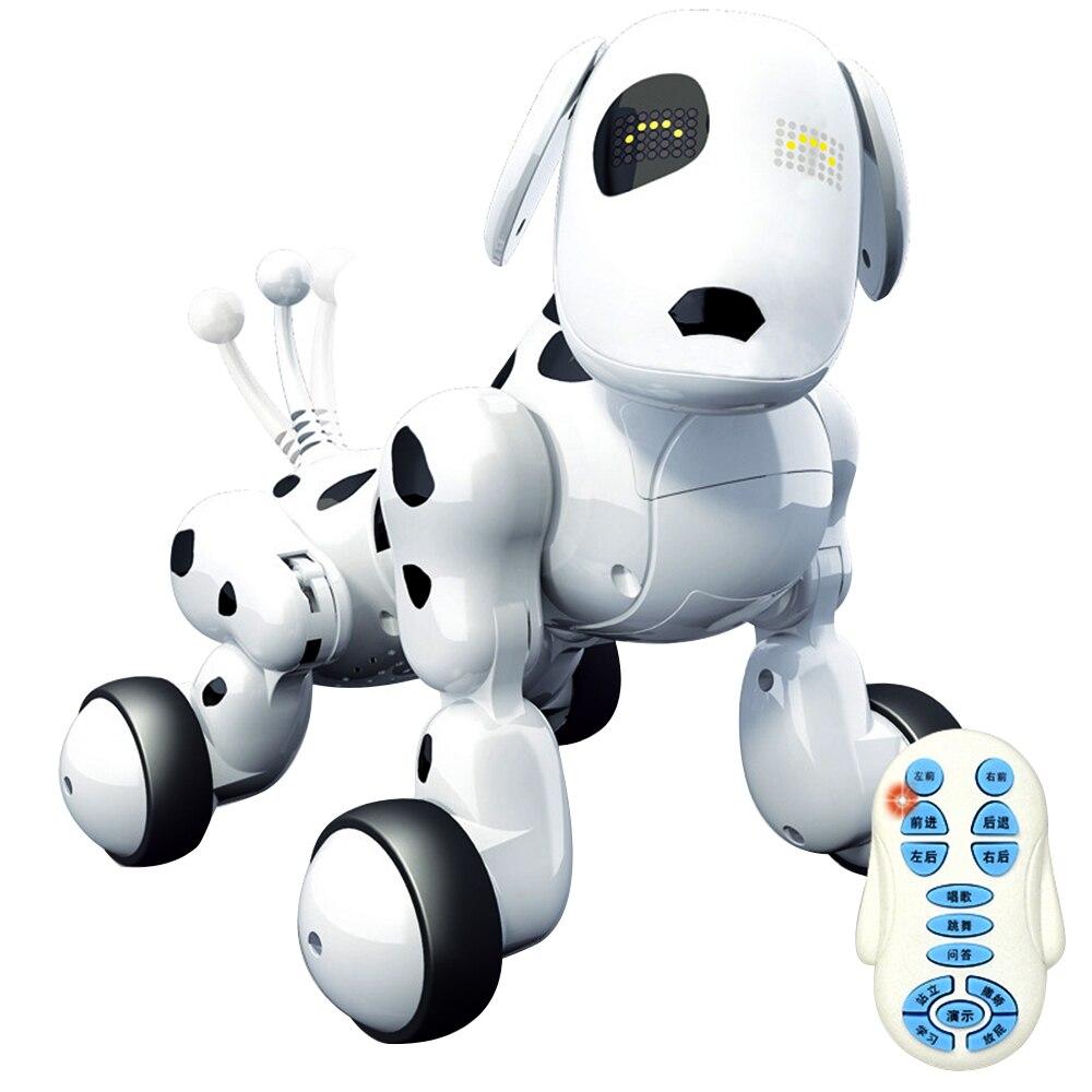Jouet pour enfants Machine chien intelligent sans fil électronique télécommande ABS matériel éducation précoce Puzzle jouet interactif 658619