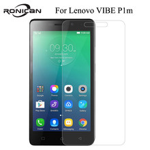 0.26MM Explosion-proof Tempered Glass Film For Lenovo VIBE P1m P1mc50 P1ma40 Dual Sim Front Screen Protector pelicula de vidro(China)