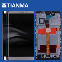 NEW 6 1920x1080 LCD Screen For Huawei Mate 8 LCD Display Touch Screen Digitizer With Frame