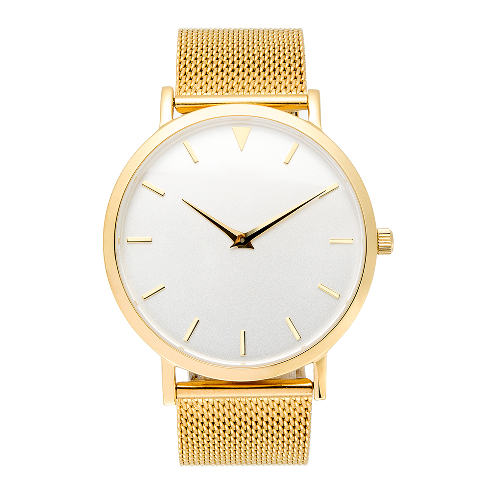 цены Gold Color Minimalist Watches Thin Case. Stainless Steel Watches, unbranded watches
