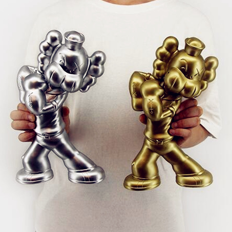 Cartoon Popeye KAWS Medicom Toy Street Art OriginalFake PVC Action Figure Model Toy G1091 2 colour outer space trophy electroplating kaws bape milo kabinett ver medicom toy pvc action figure collection model toy g690