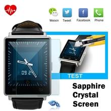 NO. 1 D6 1 GB RAM 8 GB ROM MTK6580 Quad A Core 1.63 Pulgadas pantalla Android 5.1 3G Apoyo Reloj Inteligente de Frecuencia Cardíaca GPS WIFI función