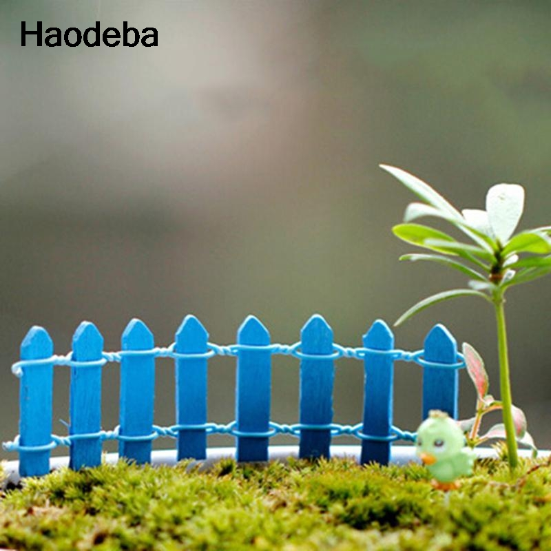 haodeba unidslote figuras miniaturas artesana bonsai valla jardn pequeo ornamento paisaje decoracin mini cerca del regist