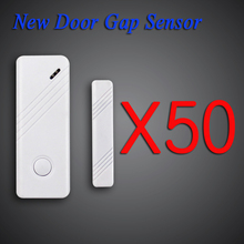 Wolf Guard Door Gap Sensor Free shipping GSM Alarm System 433 Mhz new HOT 50 PCS wireless door/window Home Security Alarm System