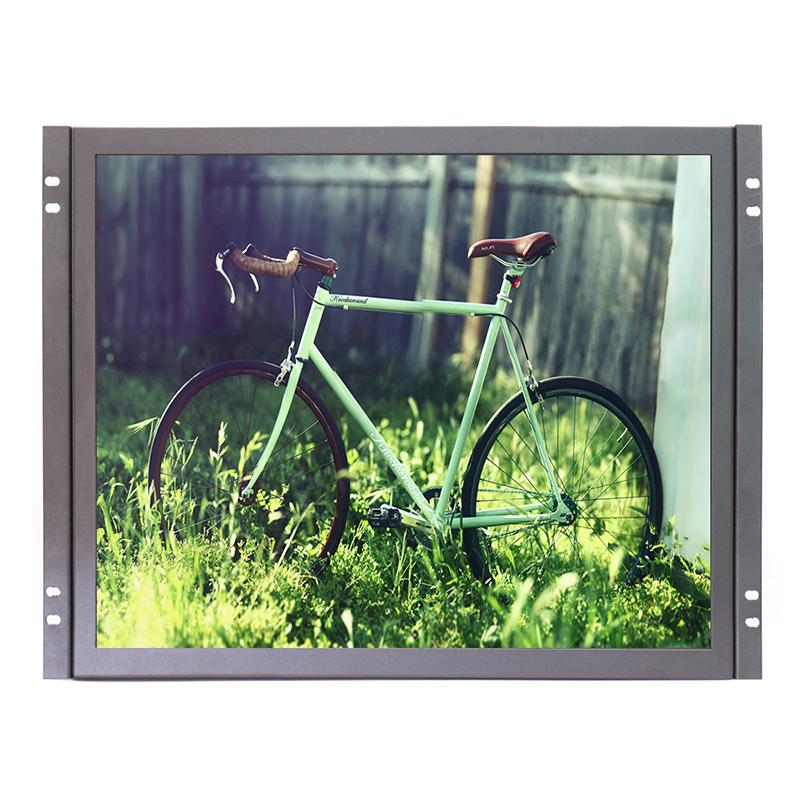 Zhixianda factory direct selling 17 inch open frame monitor 1280*1024 industrial lcd monitor with AV/BNC/VGA/HDMI/USB kf08 8 inch open frame industrial lcd monitor with vga hdmi bnc usb av signal input