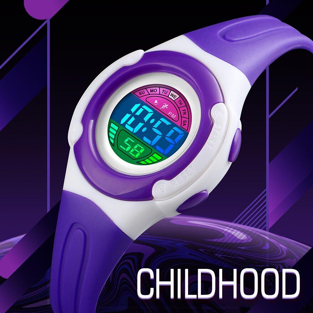 SKMEI Kids Watches Sports Style Wristwatch Fashion Children Digital Watches 5bar Waterproof Children Watches Montre Enfant 1479