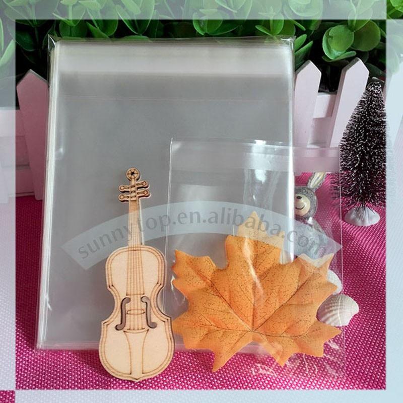 clear opp bag C6 cello bag 119x162mm self adhesive celofan bags plastic bag