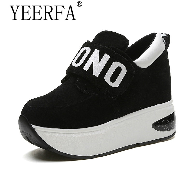 YIERFA 2018 Spring Autumn Platform Shoes Woman Slip on Casual Women Shoes Round Toe Flats Zapatillas Mujer Size 35-39 spring new slip on flats woman shoes summer autumn fashion casual women shoes comfortable round toe loafers shoes 7d46
