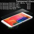 Protector de pantalla de cristal templado para samsung t310 t311 tab 3 4 taba Pro T320 T325 T321 T330 T331 T350 T377 Galaxy Tab E 8 pulgadas