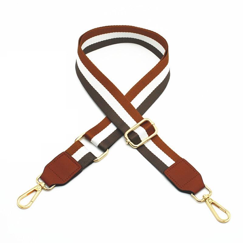 135CM Adjustable Bag Straps Shoulder Belts Band Replacement Detachable Handbag Handle DIY Accessories Part Colorful KZ1001-1