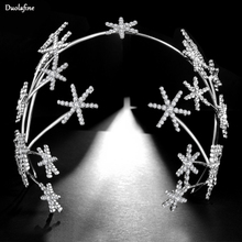 2019 New Fashion Silver Stars Design Bride Hair Accessories Handmade R