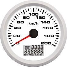 85 мм Универсальный Автомобильный морской gps скоростной одометр