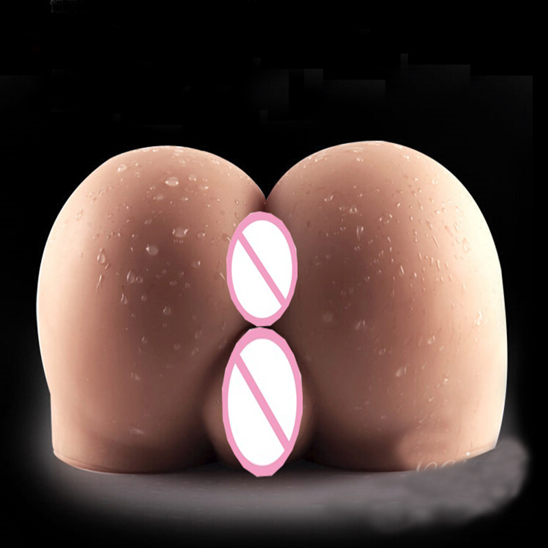 ФОТО Soft 4kg big ass 3d adult sex doll male masturbator full silicone sex dolls real vagina and anal adult sex toys for men dolls