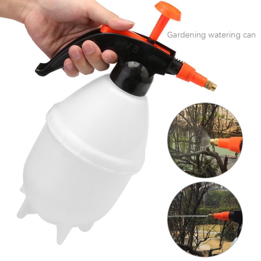 Portable Garden Spray Bottle Kettle Pressure Sprayer Plant Flowers Watering Can Sprayer Kettle Home Gardening Tools refletor fq led