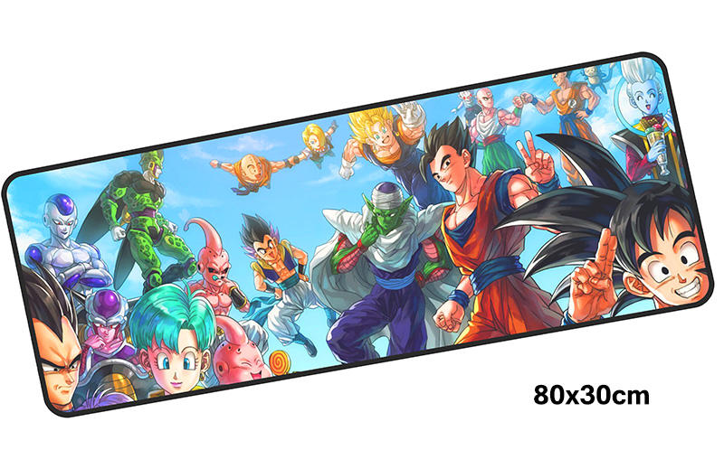 DRAGON BALL Z mousepad gamer 800x300X3MM gaming mouse pad Professional notebook pc accessories laptop padmouse ergonomic mat