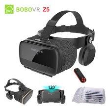 Original bobovr z5 3d vr óculos de realidade virtual immersive android 120 fov google papelão capacete para 4-6.2 smartphone smartphone