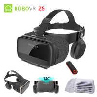 Original Bobovr Z5 3D VR lunettes réalité virtuelle lunettes immersif Android 120 FOV Google casque en carton pour 4-6.2 'Smartphone