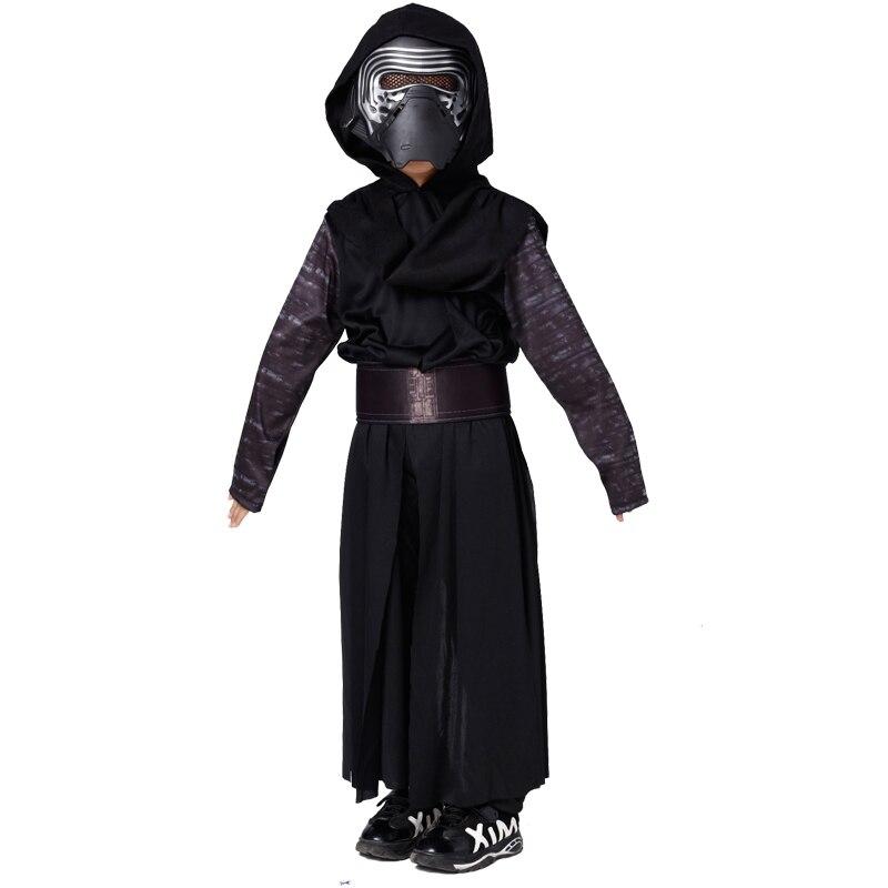 Genereus Nieuwe Collectie Jongens Deluxe Star Wars De Force Wekt Kylo Ren Classic Cosplay Kleding Kids Halloween Film Kostuum Voor Kinderen Modern En Elegant In Mode