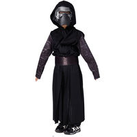 2017 New Arrival Boys Deluxe Star Wars The Force Awakens Kylo Ren Classic Cosplay Clothing Children