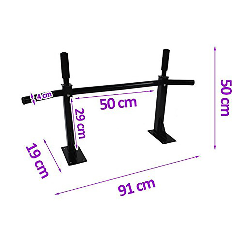 New Indoor Wall Horizontal Bar Home Fitness Mutifunction Training Equipment Body Home Gym Workout Pull Up Bar Exercise