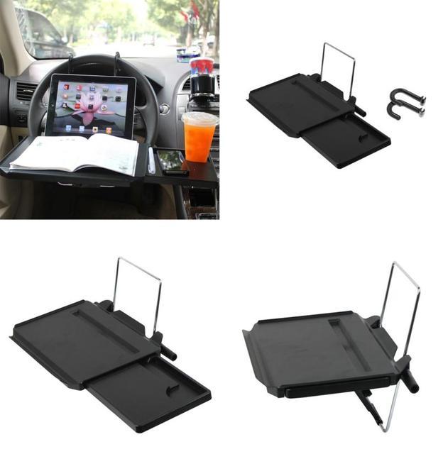 Nueva Llegada de escritorio Portátil Volante Coche De SUV Asiento Trasero Soporte Bandeja De Trabajo Mesa de Comedor jy19