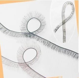 AILAIKI 10 Pcs/lot BJD Eyelashes For Reborn Doll Eyelash BJD/SD Black & Brown Eyelashes 20cm Length For Dolls DIY Eye Lash Toy