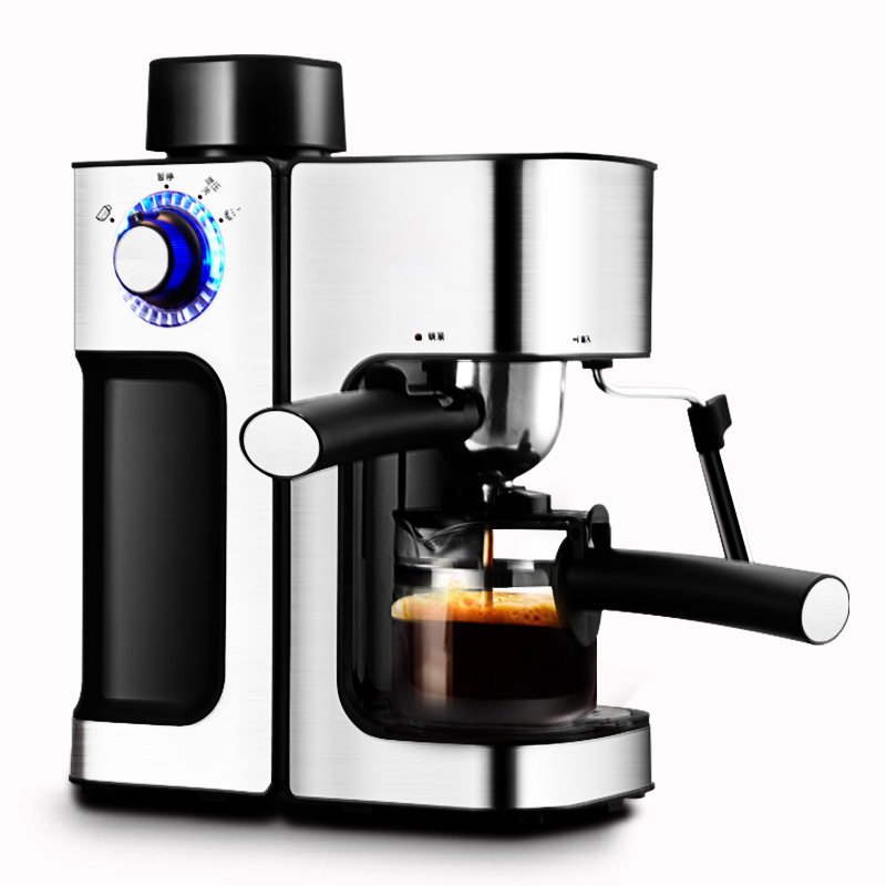 DMWD 240ML Italian Espresso Coffee Maker Automatic Electric Coffee Machine Latte Cappuccino CafeMocha Milk Frothers Milk Foamer