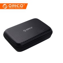 ORICO 2.5 Hard Disk Case 휴대용 HDD 보호 백 대 한 External 2.5 inch Hard Drive/Earphone/U Disk hard Disk Drive Case Black(China)