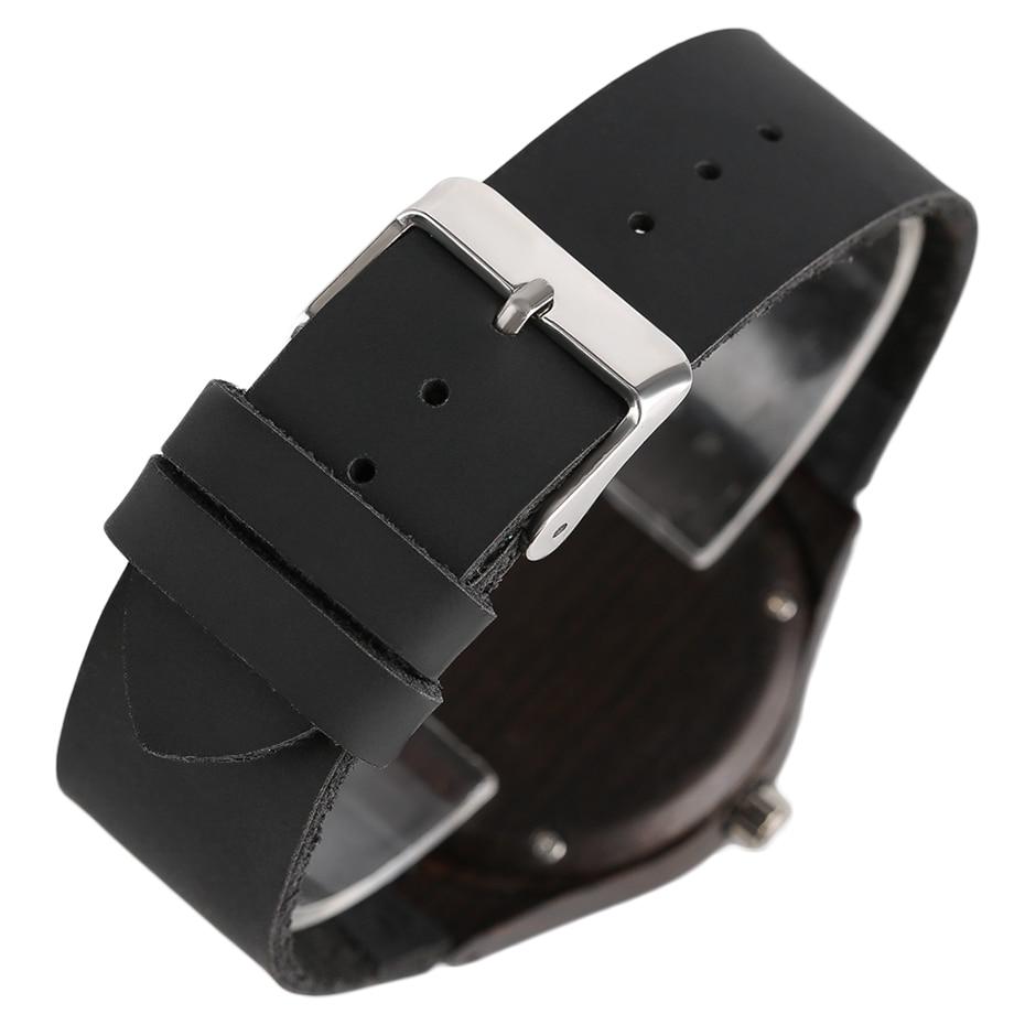 Top Luxury Mens Watch Retro Ebony Wood Watch Unique Diamond Dial Sports Quartz Women Writstwatch Genuine Leather Valentine Gifts 2020 (19)