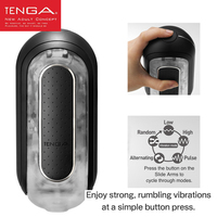 TENGA FLIP ZERO ELECTRONIC VIBRATION Aircraft Cup Male Masturbator for Man Reusable Products Masturbation Adult Sex Toys for Men