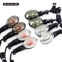 Turn Signal Indicator LED/Bulb For KAWASAKI NINJA 250R 650 Vulcan S KLX250S KLX 250SF 250 Motorcycle Accessories Light Lamp Lens недорого
