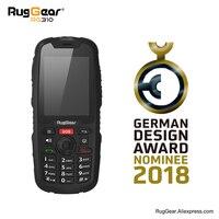 RugGear310B unlocked açık su geçirmez akıllı telefon (siyah)