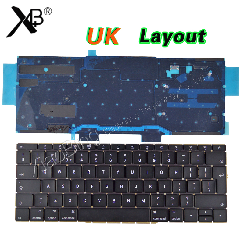 купить New A1708 UK Keyboard for Macbook Pro 13.3