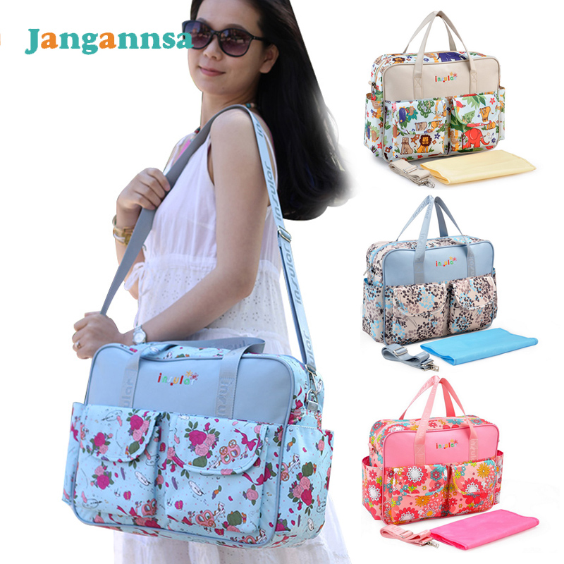New Diaper Bags For Wheelchairs Fashion Large Capacity Backpack Female Mommy Baby Nappy Bag Bag For Stroller Light Baby Care Bag