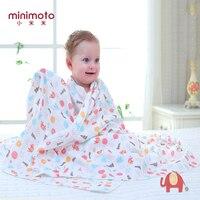 Minimoto Baby Blanket Newborn Swaddle Wrap Blankets Super Soft Toddler Infant Bedding Quilt For Bed Sofa Basket Stroller Blanket