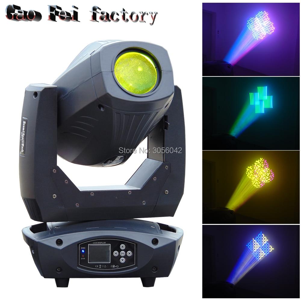 2018 200W LED Beam Spot Wash 3in1 Effect Moving Head Light ZOOM DMX For DJ Stage Lighting все цены