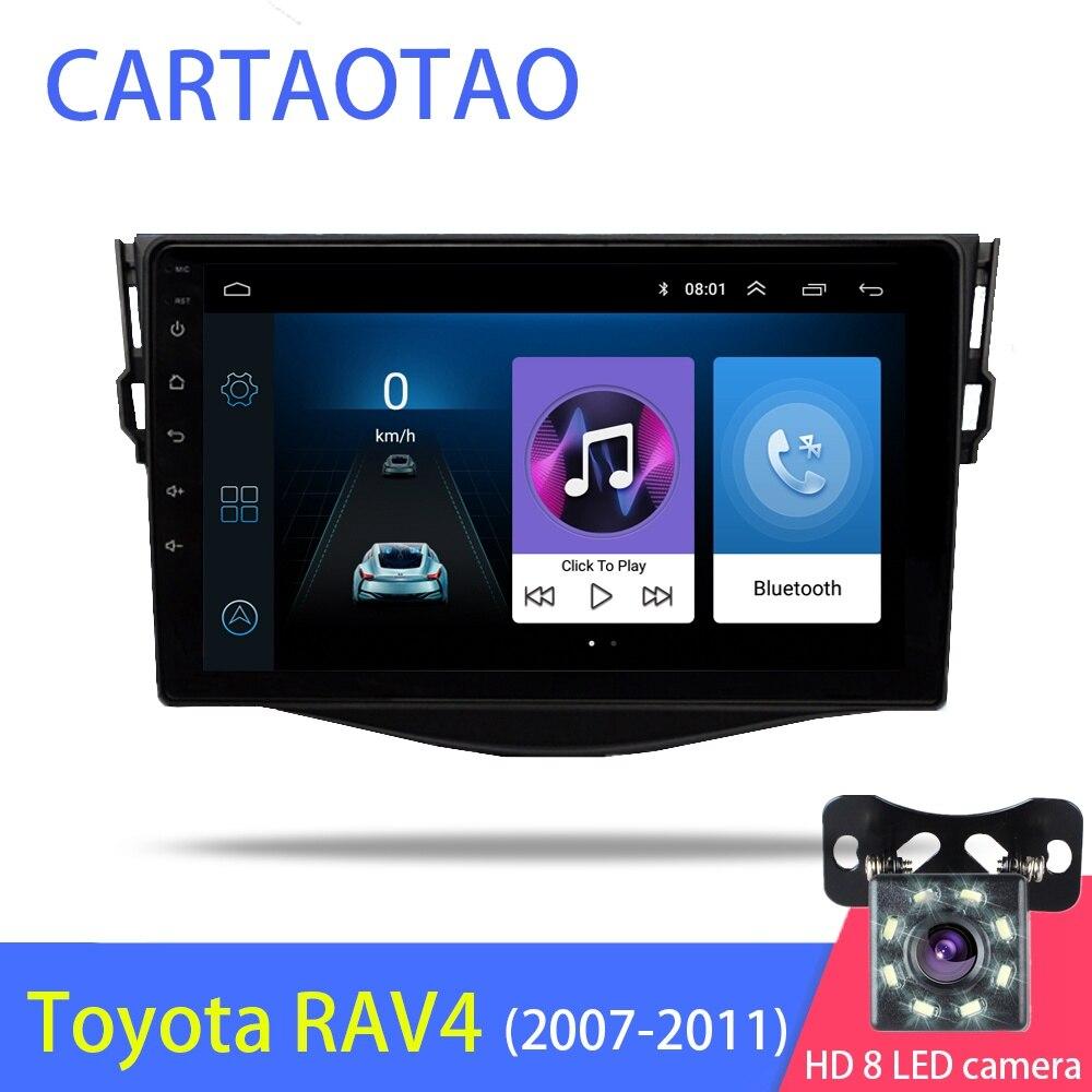 New 9 2din Android 8 1 GO Car DVD Player for RAV4 Rav 4 2007 2008