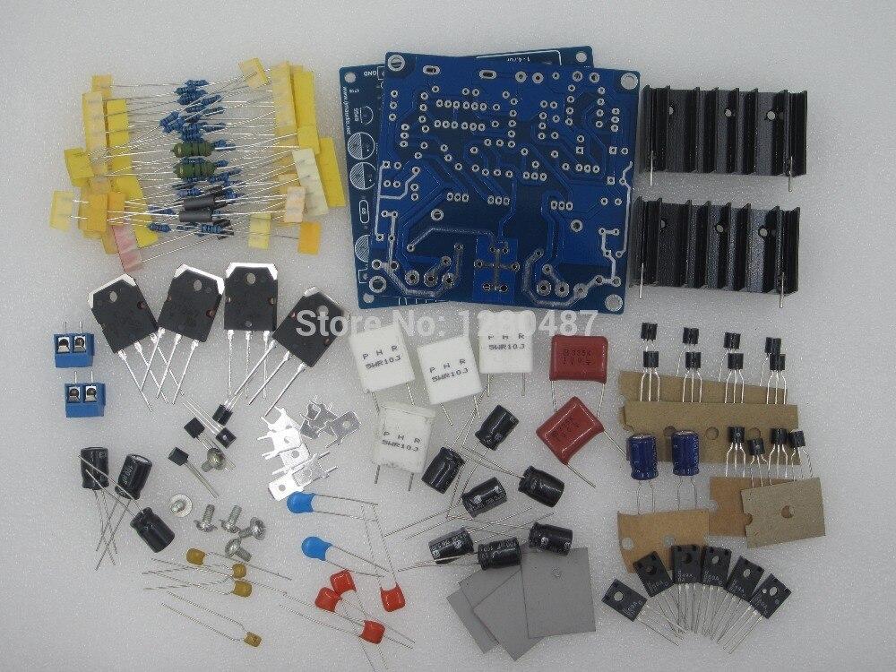 Free ShippinG LJM- MX50 SE (100w+100w)Power amp kit Stero Amplifier kit DIY (include 2 amp board) 100%New Original wholesale new 2pcs nap 140 classic naim clone audio power amplifier 100w 100w 4ohm 40v diy kit