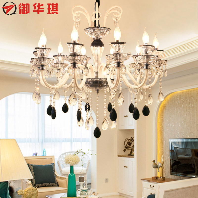 Longree Modern Crystal Chandeliers Home Lighting lustres Decoration Luxury Candle Chandelier Pendants Living Room Indoor modern crystal chandelier light living room decoration crystal pendants and chandeliers home lighting indoor lamp e14 led candle