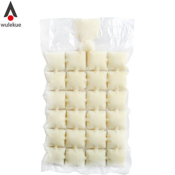 10Pcs Disposable Ice Cube Tray Mold Water Injection