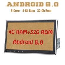 PX5 Android 8,0 10,2 дюйма 1din универсальный автомобильный Радио gps Octa core 4G Оперативная память 32G Встроенная память Wi-Fi 4g usb Auto стерео Multimed