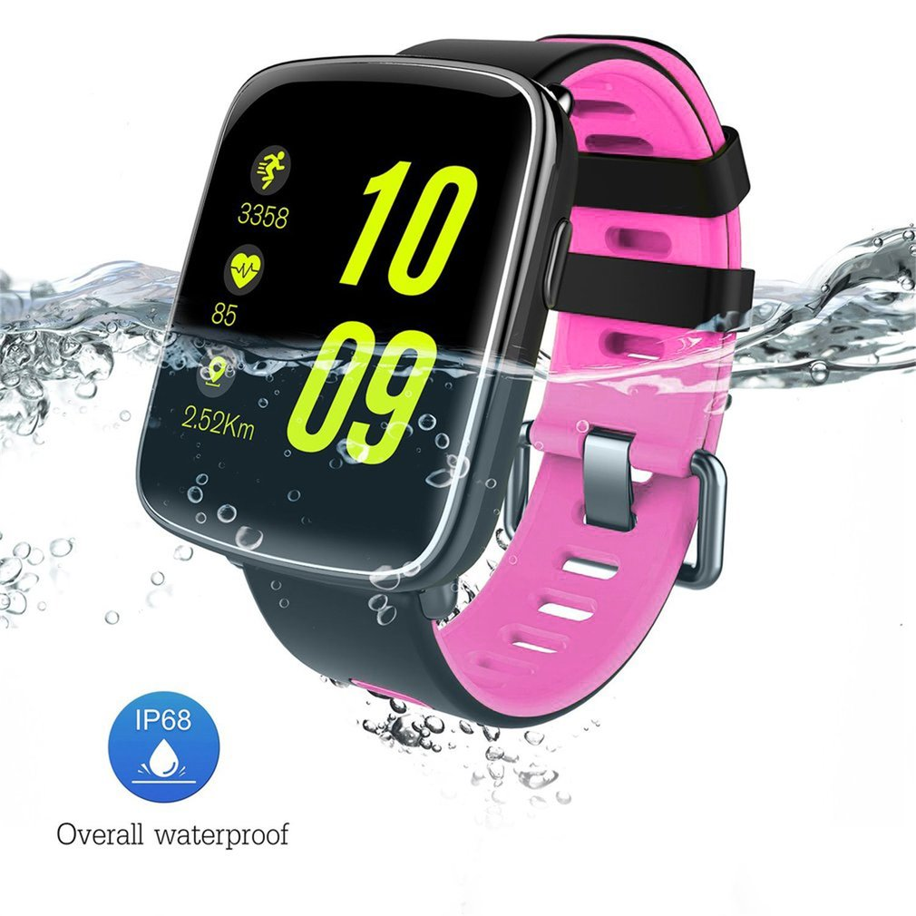 GV68 Smart Watch Pedometer Reminder Remote Camera Heart Rate Monitor Silicone Strap Wristwatch For IOS For Android Phone colmi smart watch n3 heart rate monitor pedometer push message remote control camera for android ios phone watch