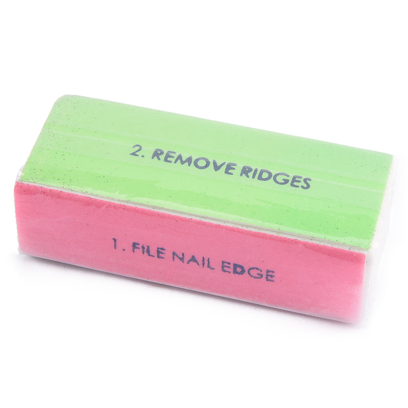 Rstyle 3 Pcs 4 Sides Nail Polisher Buffer Block Gel Art Sanding Manicure Tools Shiny File Tips In Files Buffers From