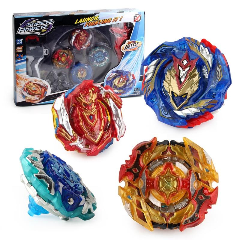 Nuevo lanzadores Kai Watch Land juguetes Arena lanzadores Beyblades Toupie de Metal con Dios Spinning Top Bey Blade hojas de juguete